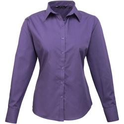 vaatteet Naiset Paitapusero / Kauluspaita Premier PR300 Purple