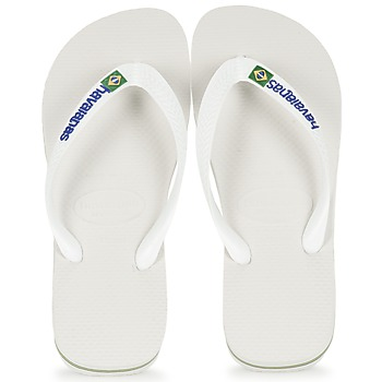 kengät Varvassandaalit Havaianas BRASIL LOGO White