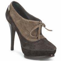kengät Naiset Nilkkurit Alberto Gozzi CAMOSCIO ARATY Brown