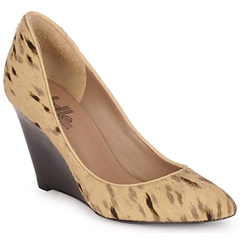 kengät Naiset Korkokengät Belle by Sigerson Morrison HAIRMIL Beige / Musta