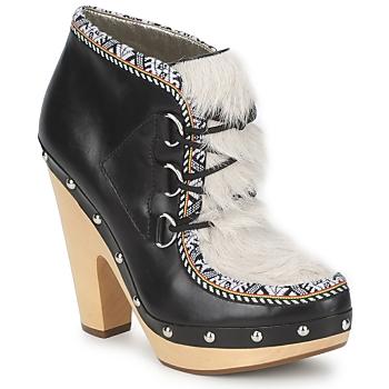 kengät Naiset Nilkkurit Belle by Sigerson Morrison BLACKA Beige / Black