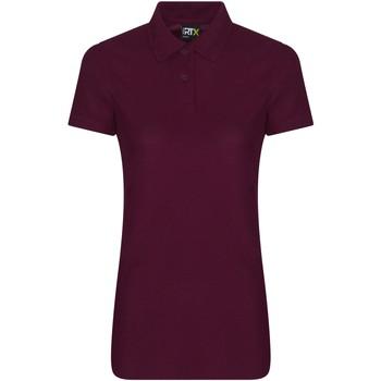 vaatteet Naiset Lyhythihainen poolopaita Pro Rtx RX05F Burgundy