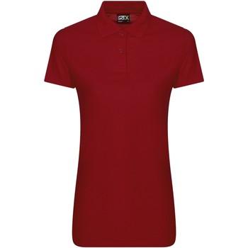 vaatteet Naiset Lyhythihainen poolopaita Pro Rtx RX05F Red