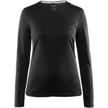vaatteet Naiset T-paidat pitkillä hihoilla Craft CT89F Black