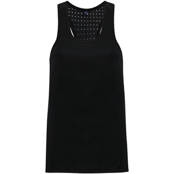 vaatteet Naiset Hihattomat paidat / Hihattomat t-paidat Tridri TR041 Black