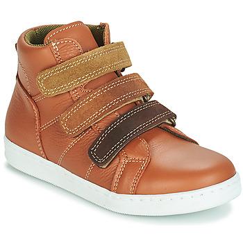 kengät Pojat Bootsit André TRITON Camel