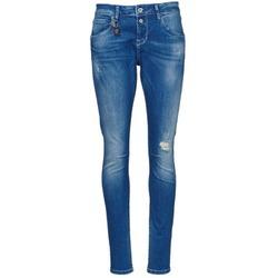 vaatteet Naiset Slim-farkut Only LISE Blue