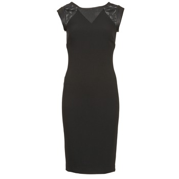vaatteet Naiset Lyhyt mekko Naf Naf EPOIS Black