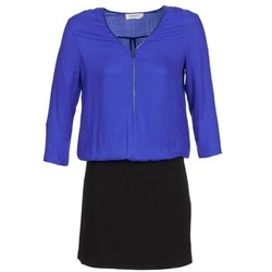 vaatteet Naiset Lyhyt mekko Naf Naf KIMON DR Blue / Black