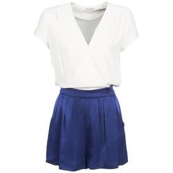 vaatteet Naiset Jumpsuits / Haalarit Naf Naf KLOVIS White / Blue