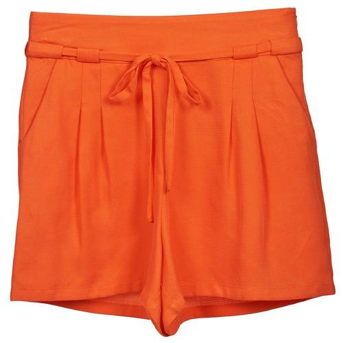 vaatteet Naiset Shortsit / Bermuda-shortsit Naf Naf KUIPI Orange