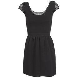 vaatteet Naiset Lyhyt mekko Naf Naf MANGUILLA Black