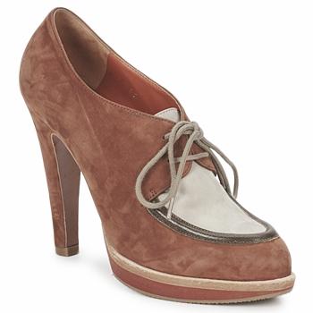 kengät Naiset Nilkkurit Michel Perry SADDLE Kalpea vaaleanpunainen