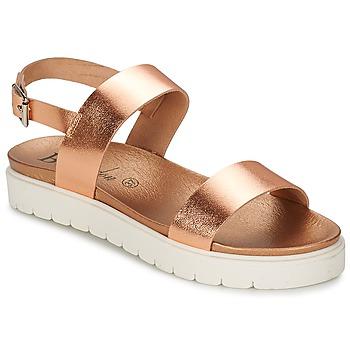 kengät Naiset Sandaalit ja avokkaat Betty London JOBELA Nude