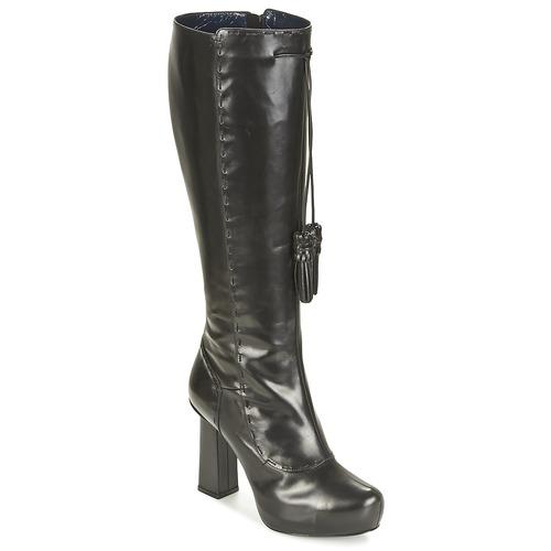 kengät Naiset Saappaat Pollini PA2611 Black
