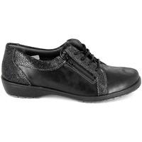 kengät Naiset Derby-kengät Boissy Derby 80069 Noir Musta