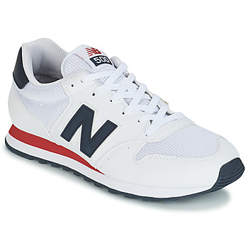 kengät Miehet Matalavartiset tennarit New Balance GM500 White