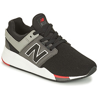 kengät Pojat Matalavartiset tennarit New Balance GS247 Black