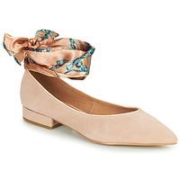 kengät Naiset Balleriinat Karston KEBEC Vaaleanpunainen