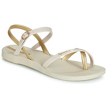 kengät Naiset Sandaalit ja avokkaat Ipanema FASHION SANDAL VII Beige / Kulta