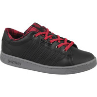 kengät Lapset Matalavartiset tennarit K-Swiss Hoke Plaid 85111-050 Noir