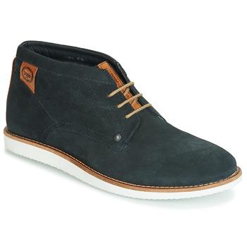 kengät Miehet Bootsit Base London BUSTER Laivastonsininen