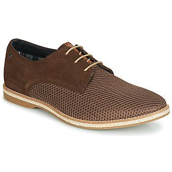 kengät Miehet Derby-kengät Base London KINCH Ruskea