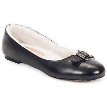 kengät Naiset Balleriinat Keyté ASTOR Musta