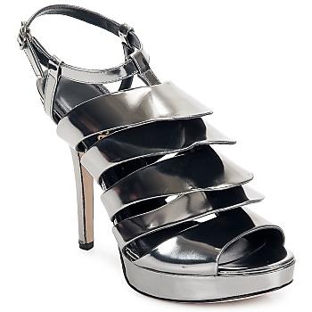 kengät Naiset Sandaalit ja avokkaat Jerome C. Rousseau QUORRA Hopea