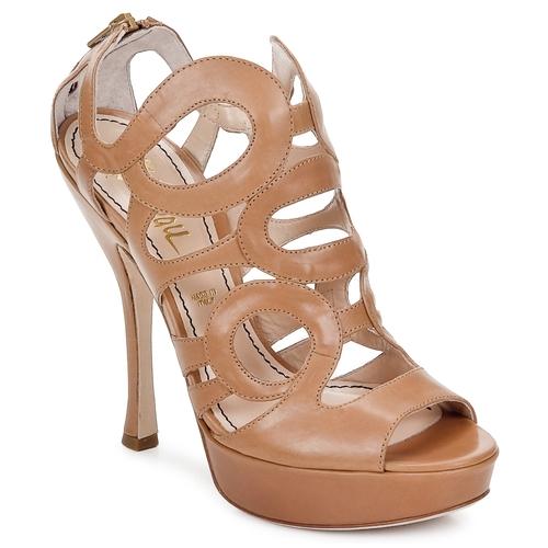 kengät Naiset Sandaalit ja avokkaat Jerome C. Rousseau ISY Camel