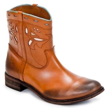 kengät Naiset Bootsit Strategia PONCHO Brown