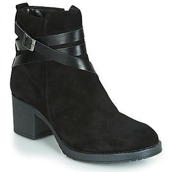 kengät Naiset Bootsit André MIDWEST Musta