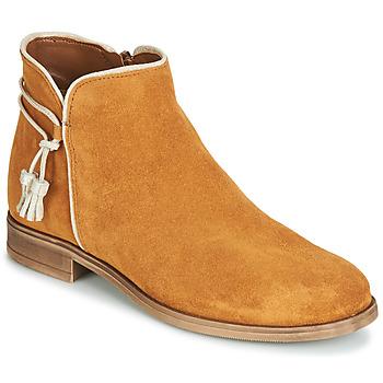 kengät Naiset Bootsit André BILLY Camel