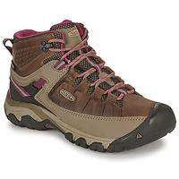 kengät Naiset Vaelluskengät Keen TARGHEE III MID WP Brown / Pink