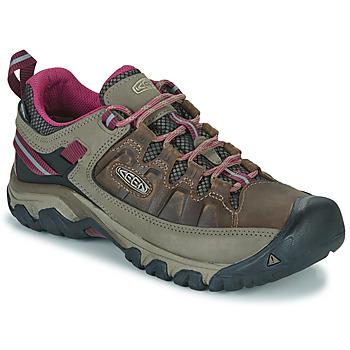 kengät Naiset Vaelluskengät Keen TARGHEE III WP Brown / Pink