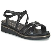 kengät Naiset Sandaalit ja avokkaat Tamaris EDA Black