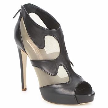 kengät Naiset Nilkkurit Rupert Sanderson ORBIT Black / Beige