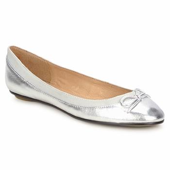 kengät Naiset Balleriinat Buffalo BABY BILL Argenté