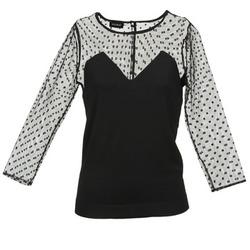 vaatteet Naiset Neulepusero Kookaï FERMULE Black