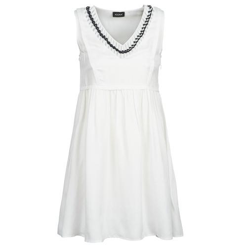 vaatteet Naiset Lyhyt mekko Kookaï BATUILLE White