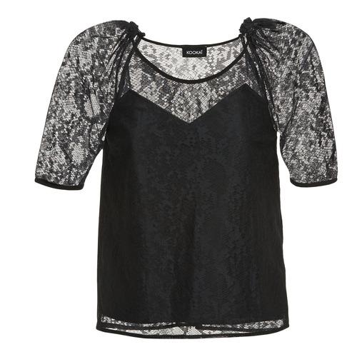 vaatteet Naiset Topit / Puserot Kookaï BASALOUI Black