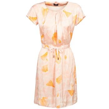 vaatteet Naiset Lyhyt mekko Kookaï VOULATE Pink / Yellow