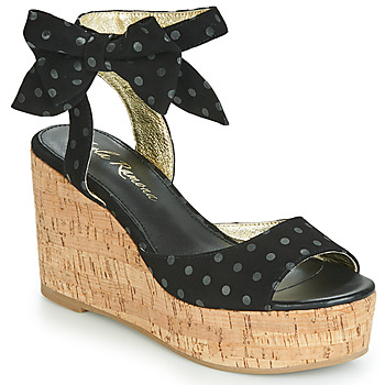 kengät Naiset Sandaalit ja avokkaat Lola Ramona NINA Musta