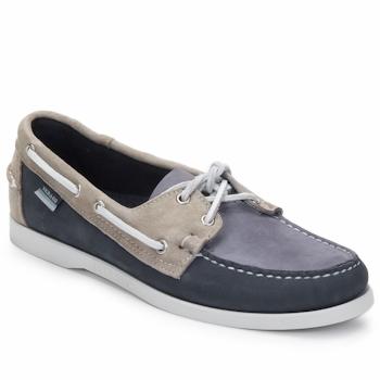 kengät Miehet Purjehduskengät Sebago SPINNAKER Sininen / White / Blue
