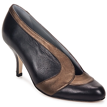 kengät Naiset Korkokengät Fred Marzo MADO BOOT Musta / vaaleanpunainen / harmaa / Pronssi