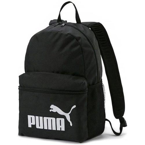 laukut Reput Puma Phase Backpack IN Black Mustat