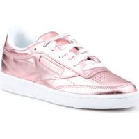 kengät Naiset Matalavartiset tennarit Reebok Sport Club C 85 S Shine CN0512 pink