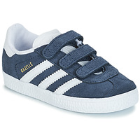 kengät Pojat Matalavartiset tennarit adidas Originals GAZELLE CF I Blue