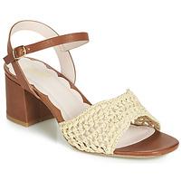 kengät Naiset Sandaalit ja avokkaat Miss L'Fire MIRO Brown