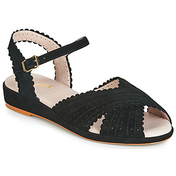 kengät Naiset Sandaalit ja avokkaat Miss L'Fire BRIGITTE Black